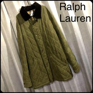 ラルフローレン(Ralph Lauren)のミカさん売約 ラルフローレン キルティングジャケット ハンティングジャケット(ミリタリージャケット)