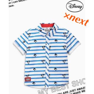 ネクスト(NEXT)のりんす様専用next×Disney85cmミッキーシャツ12-18m(シャツ/カットソー)