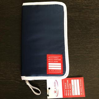 ジャル(ニホンコウクウ)(JAL(日本航空))のJAL×AEON  パスポートケース  通帳ケースにも(旅行用品)