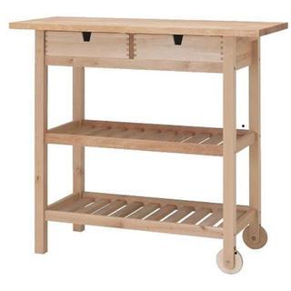 イケア(IKEA)のIKEA FORHOJA フォルホイア イケア キッチン ワゴン カウンター(キッチン収納)