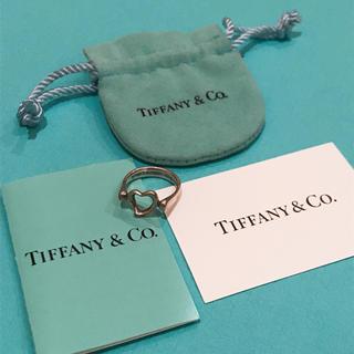 ティファニー(Tiffany & Co.)のティファニー☆オープンハートリング(リング(指輪))