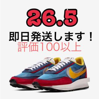 ナイキ(NIKE)のNIKE SACAI LDWAFFLE BLUE 26.5㎝(スニーカー)