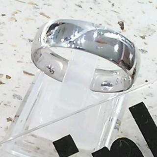 14号♡新品♥送料込♡指輪幅広甲丸リング(リング(指輪))