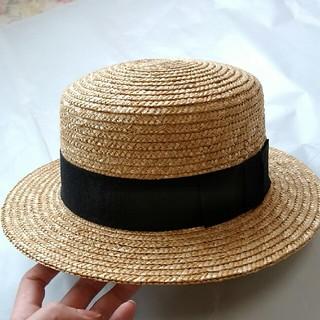 イング(INGNI)のカンカン帽 INGNI(麦わら帽子/ストローハット)