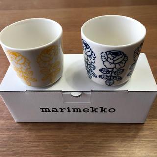 マリメッコ(marimekko)の お値下げ 新品 未使用 マリメッコ ラテマグ (グラス/カップ)