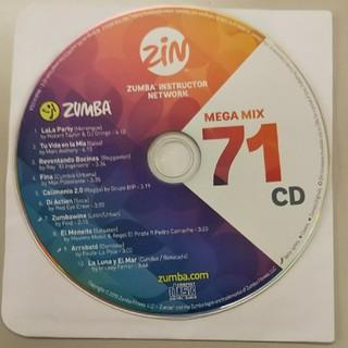 Zumba - ズンバ メガミックス71 CD