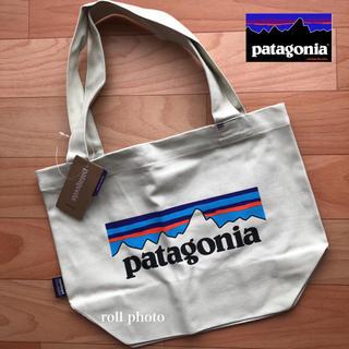パタゴニア(patagonia)の大人気 ! 新品 ☆パタゴニア ミニ トートバッグ ロゴ 入り(トートバッグ)