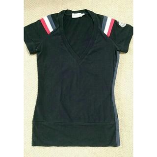 モンクレール(MONCLER)の【MONCLER】モンクレール ブラック レディース Tシャツ XS(Tシャツ(半袖/袖なし))
