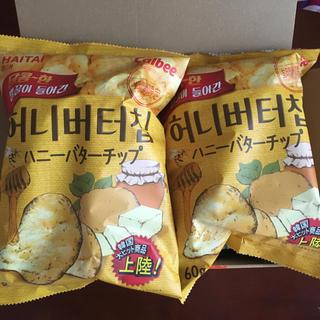 カルビー - 送料込!入手難!韓国 ハニーバターチップ