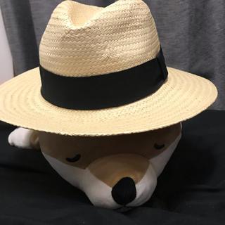 エイチアンドエム(H&M)の216.H&M 麦わら帽子(麦わら帽子/ストローハット)