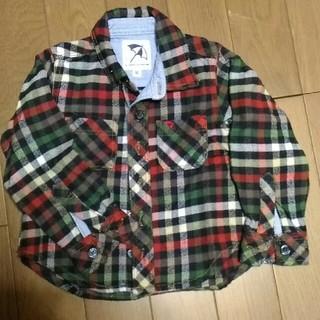 アーノルドパーマー(Arnold Palmer)のアーノルドパーマー チェックシャツ 90cm(Tシャツ/カットソー)