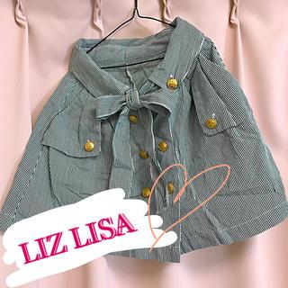 リズリサ(LIZ LISA)のLIZLISA✴︎カジュアルスカート(ミニスカート)