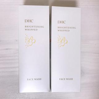 ディーエイチシー(DHC)の【2本セット】 DHC ブライトニングホイップウォッシュ 洗顔フォーム(洗顔料)