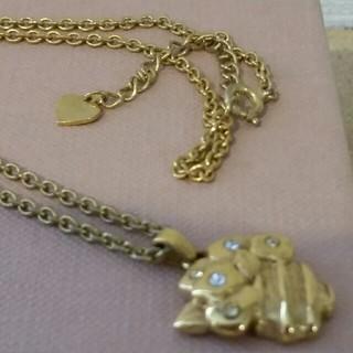 ソニアリキエル(SONIA RYKIEL)のソニアリキエル 金色ネックレス(ネックレス)