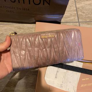 ミュウミュウ(miumiu)のMIUMIU 財布(長財布)