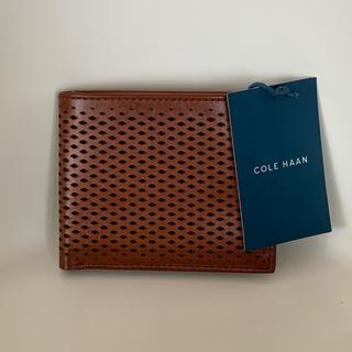 コールハーン(Cole Haan)の【新品・未使用・タグ付】 メンズ折財布  コールハーン COLE HAAN  (折り財布)