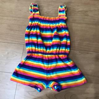 シマムラ(しまむら)の虹色 オールインワン(Tシャツ/カットソー)
