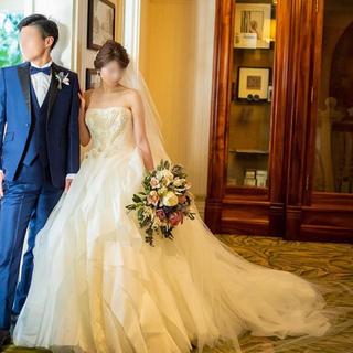 ヴェラウォン(Vera Wang)の美品‼︎verawang liesel US2☆ウェディングドレス(ウェディングドレス)