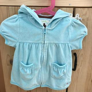ベビーギャップ(babyGAP)のベビーギャップ  半袖パーカー  80サイズ(その他)