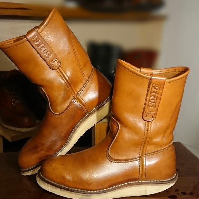 REDWING(レッドウィング)の◆REDWING 866 PECOS ペコスブーツ 5D(23~24cm) メンズの靴/シューズ(ブーツ)の商品写真