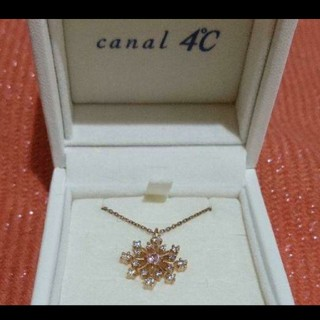 canal4℃ - ☆canal4℃ ネックレス☆ 結晶モチーフ ピンクゴールド