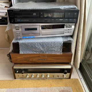 オンキヨー(ONKYO)のオーディオ一式  レコードプレーヤー含む(ターンテーブル)