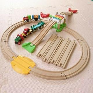 ブリオ(BRIO)のブリオBRIO レールウェイマイファースト ビギナーセット(電車のおもちゃ/車)