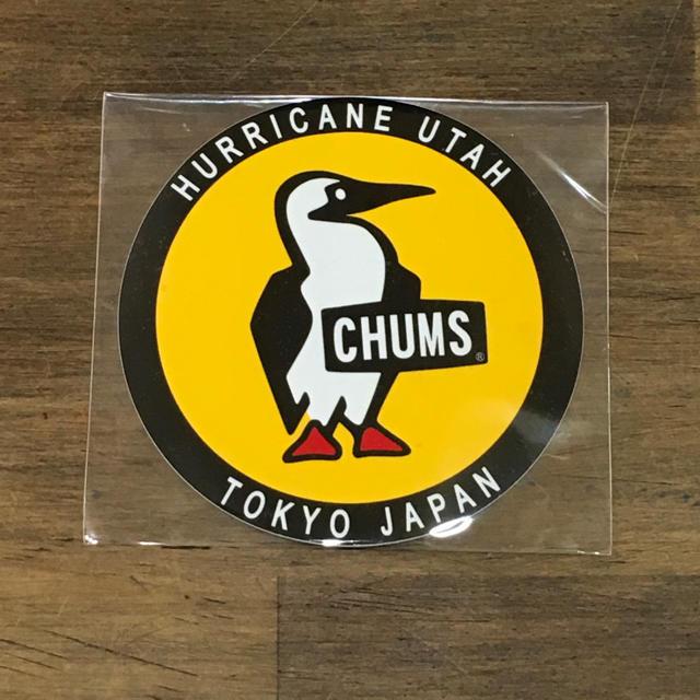 CHUMS(チャムス)の【新品】丸型が可愛い!ブービーバードのステッカーです。 自動車/バイクのバイク(ステッカー)の商品写真