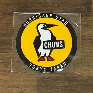 チャムス(CHUMS)の【新品】丸型が可愛い!ブービーバードのステッカーです。(ステッカー)