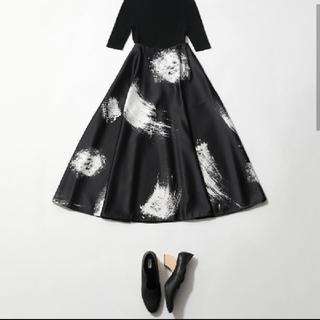 エンフォルド(ENFOLD)の新品タグ付 ENFOLD 今季デザインスカート 38(ロングスカート)