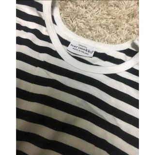 マリメッコ(marimekko)のmarimekko*マリメッコ ボーダーロンT S(Tシャツ/カットソー(七分/長袖))