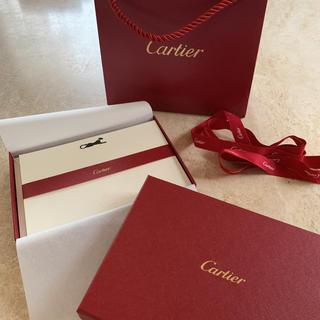 カルティエ(Cartier)の貴重‼️カルティエ  カード&封筒セット(カード/レター/ラッピング)