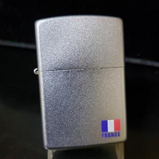 ジッポー(ZIPPO)の新品箱無し❤03I'Zippo❤サテンクローム❤フランス国旗♥送料無料(タバコグッズ)