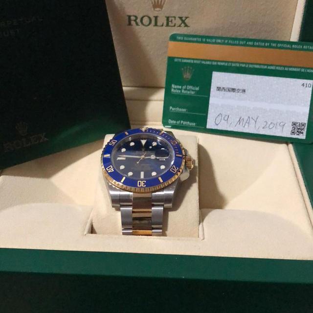 ROLEX(ロレックス)の新品 ROLEX ロレックス サブマリーナ 青サブ コン メンズの時計(腕時計(アナログ))の商品写真