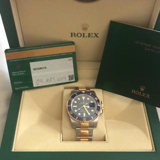 ロレックス(ROLEX)の新品 ROLEX ロレックス サブマリーナ 青サブ コン(腕時計(アナログ))