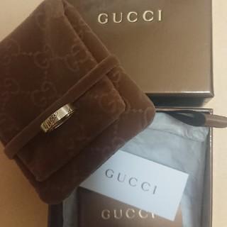 グッチ(Gucci)のK18 750 YG ゴールド グッチ GUCCI リング 指輪(リング(指輪))