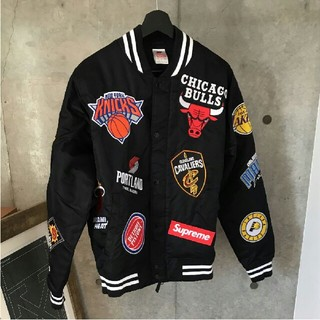 シュプリーム(Supreme)のSupreme Nike NBA Teams Warm-Up Jacket(スタジャン)