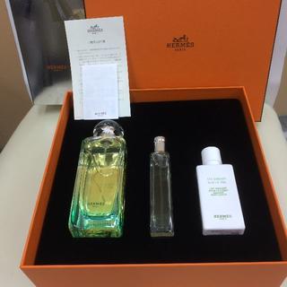 エルメス(Hermes)のエルメス ナイルの庭 オードトワレ ローション セット e005(香水(女性用))