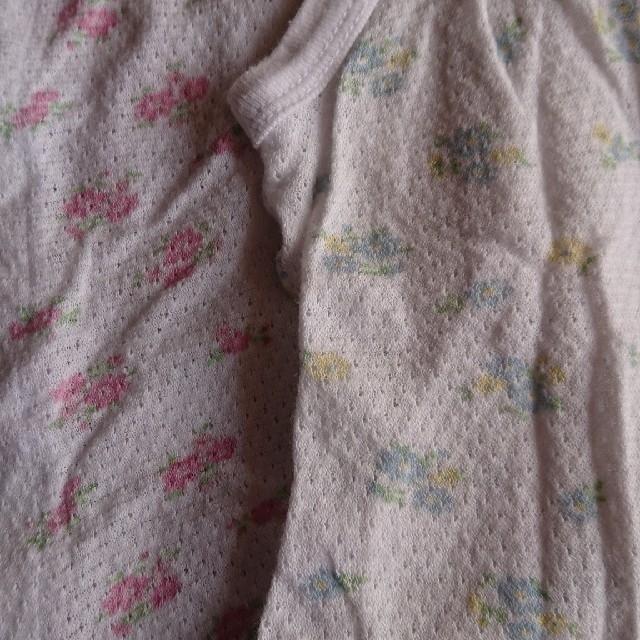 西松屋(ニシマツヤ)の前開き ロンパース  キッズ/ベビー/マタニティのベビー服(~85cm)(肌着/下着)の商品写真
