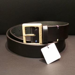 ポールスミス(Paul Smith)の値下げ ポールスミス メンズベルト レザー ブラック 正規購入品 未使用(ベルト)
