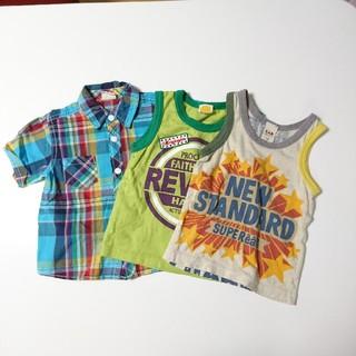 ムージョンジョン(mou jon jon)のムージョンジョン シャツ タンクトップ エーアーベー  3枚(Tシャツ)
