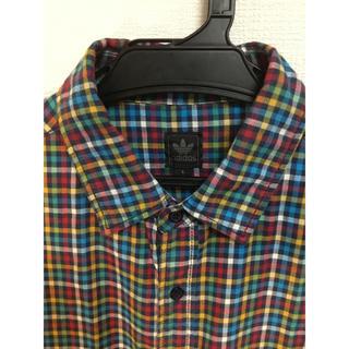 アディダス(adidas)のアディダス オリジナルス(adidas originals)  チェックシャツ (Tシャツ/カットソー(半袖/袖なし))