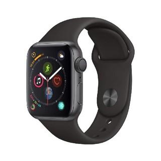 アップル(Apple)の新品未開封 AppleWatchSeries4 GPS40mmブラック(腕時計(デジタル))