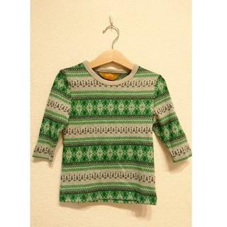 シップス(SHIPS)のmelple メイプル DELTA kids 七分 Tシャツ カットソー 子供服(Tシャツ/カットソー)