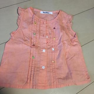 ファミリア(familiar)の子供服 ファミリア  ブラウス 100(ブラウス)