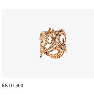 カオル(KAORU)のアトリエカオル カリグラフィーリング  K10(リング(指輪))