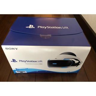 プレイステーションヴィーアール(PlayStation VR)のPSVR  PlayStation Camera同梱版 (新品未開封)(家庭用ゲーム機本体)