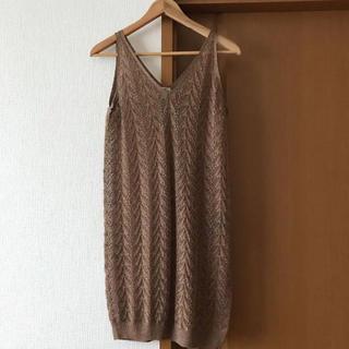 イエナ(IENA)のIENA ロングタンクトップ ドレス ワンピース(タンクトップ)
