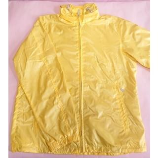 ユニクロ(UNIQLO)のユニクロ ナイロンジャケット ナイロンパーカー 黄色 ,L(ナイロンジャケット)