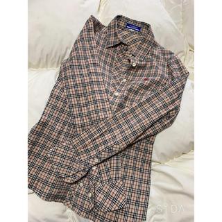 バーバリーブルーレーベル(BURBERRY BLUE LABEL)のバーバリー ブルーレーベル チェックシャツ(シャツ/ブラウス(長袖/七分))